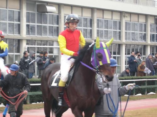 金沢競馬場の中川雅之元騎手