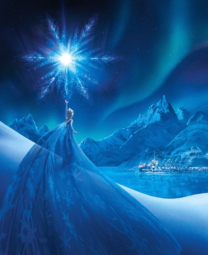 Frozen Limited edition art -Elsas_Transformation-450x553