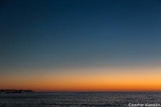 Moon & Venus Over Beirut