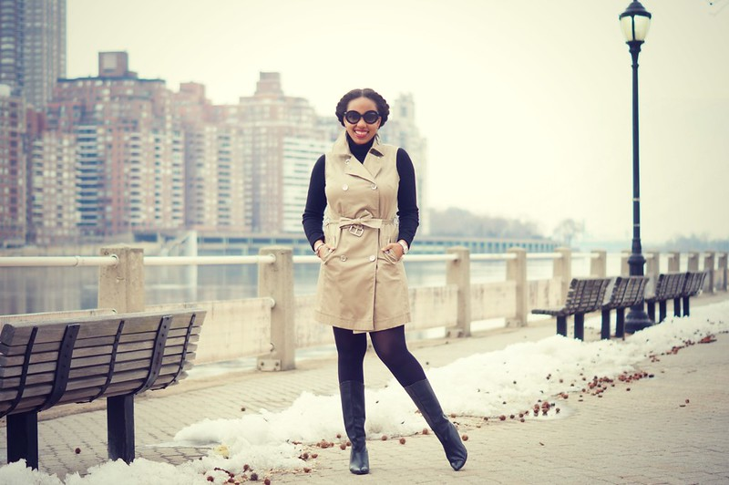 Trench Coat Dress4