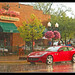 Brighton Michigan Car show downpour