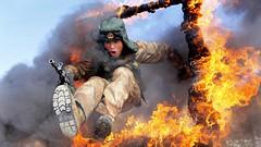 fire, stunt performer,