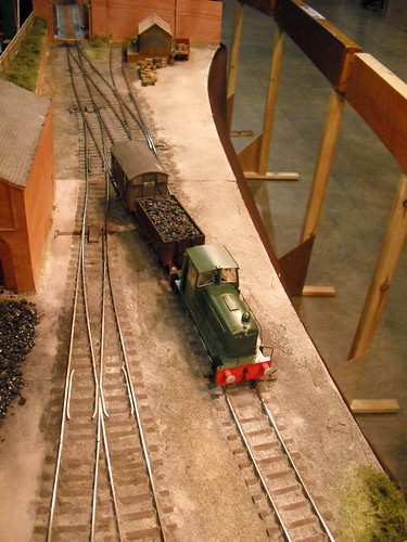Clayhanger Yard - Last train