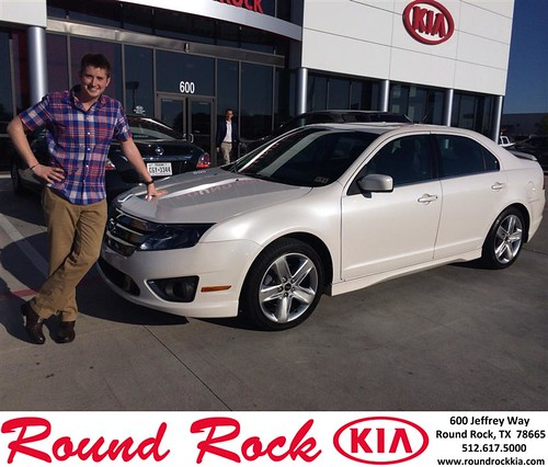 Thank you to Alex Whiteleather on your new 2012 #Ford #Fusion from Ruth Largaespada and everyone at Round Rock Kia! #NewCar by RoundRockKia
