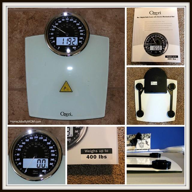 Ozeri Rev Digital Bathroom Scale