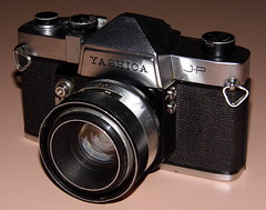 Vintage Yashica J-P 35mm SLR Film Camera, Made In Japan, Released In 1964, A Budget Version Of The Penta J