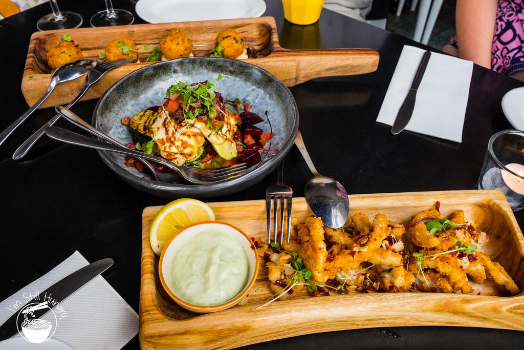 Blackbird cafe tasting plate