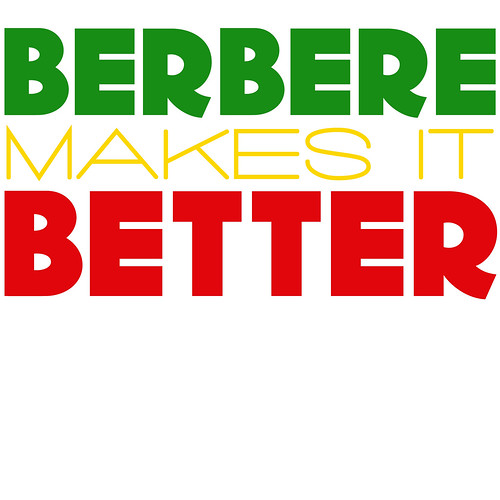 berbere makes it better, in ethiopian colors