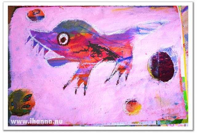Art Journal Painting