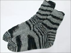 Carbonized Zombie socks