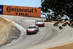 2014 Porsche GT3 Cup Challenge USA Laguna Seca Practice and Qualifying