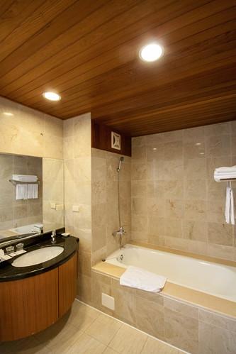 台南商務會館悠閒度假-客房衛浴02