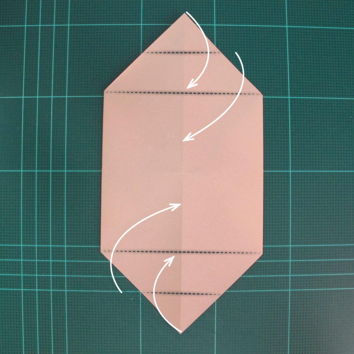 การพับกระดาษเป็นรูปเรือเรือสำปั้น (Origami Sampan) 005