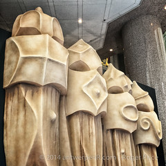 Gaudi in HK... catch it while you can at Times Square...
