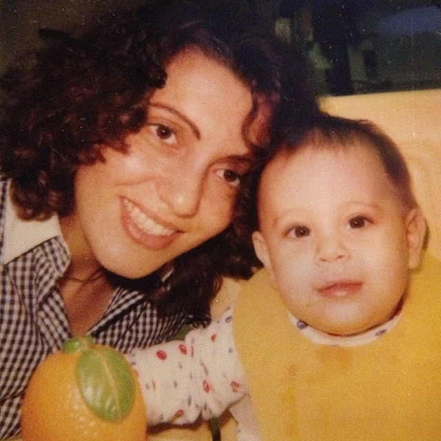 Me and my mom when I was a baby :) #mothersday