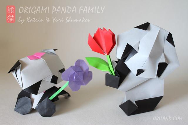 Origami Panda Family Book!
