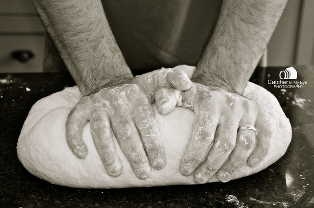 19/52 Theme: HANDMADE~ Pizza Dough