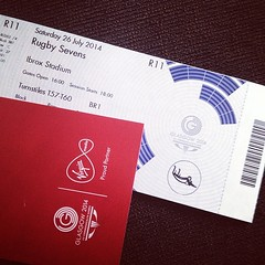 They are here finally #Glasgow2014 #commonwealthgames #tickets #rugbysevens #rugby7s #rugbyfanatic