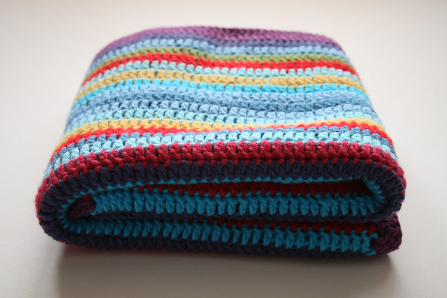Bright Stripes Blanket