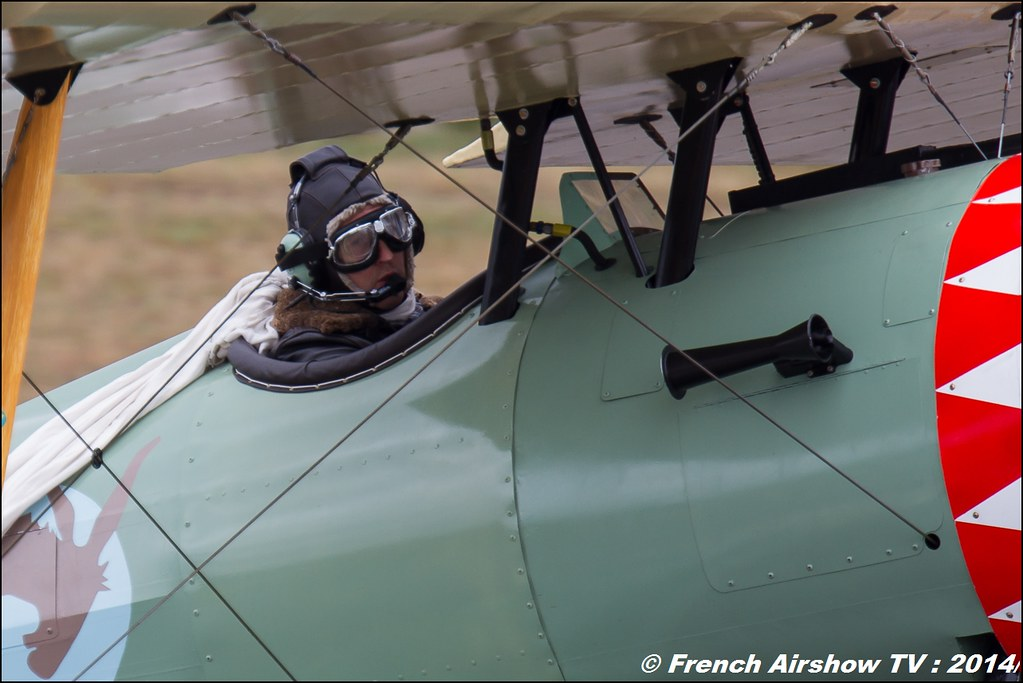 NIEUPORT 28 C1, 100, LX-NIE, ROUSSEL Meeting Aerien BA-133 Nancy Ochey 2014