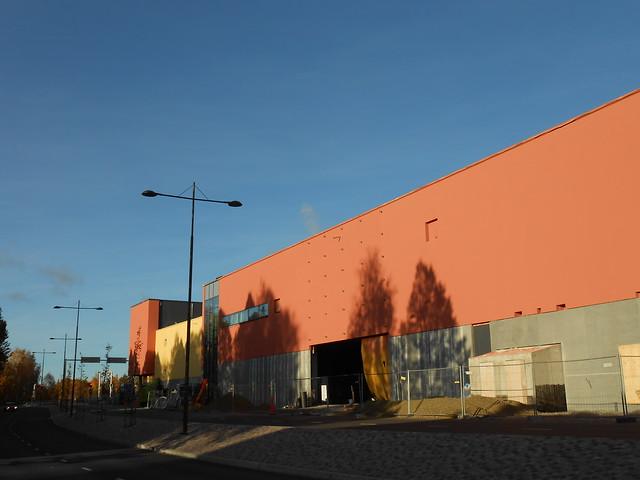 Hämeenlinnan moottoritiekate ja Goodman-kauppakeskus: Työmaatilanne 13.10.2013 - kuva 8