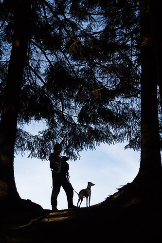 Nora's first Poo Poo Point silhouette