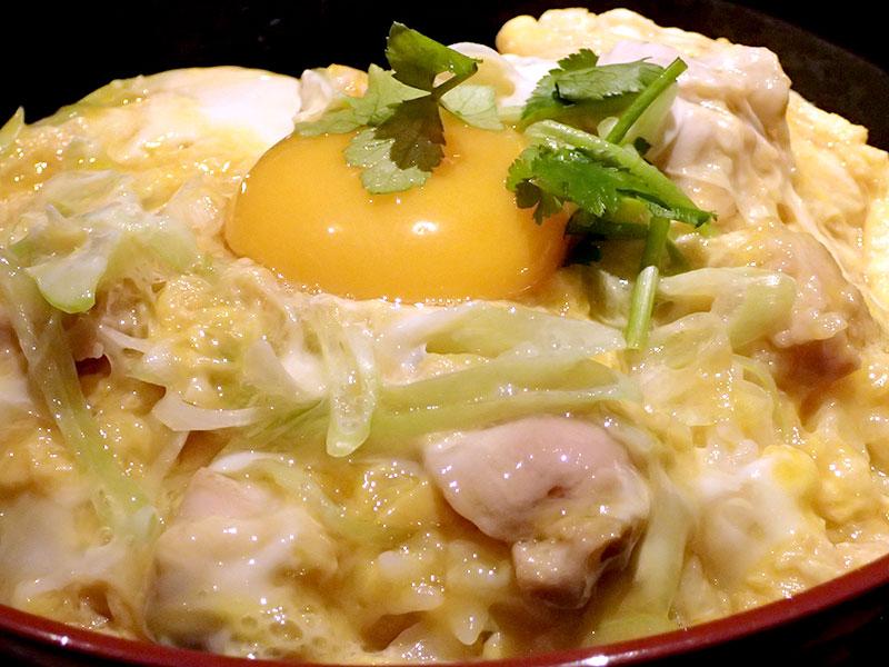 中札内鶏の親子丼