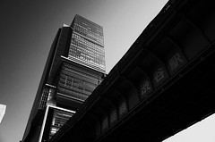 Bridge and the Modern Architecture, Hikarie, Shibuya, Tokyo, Japan