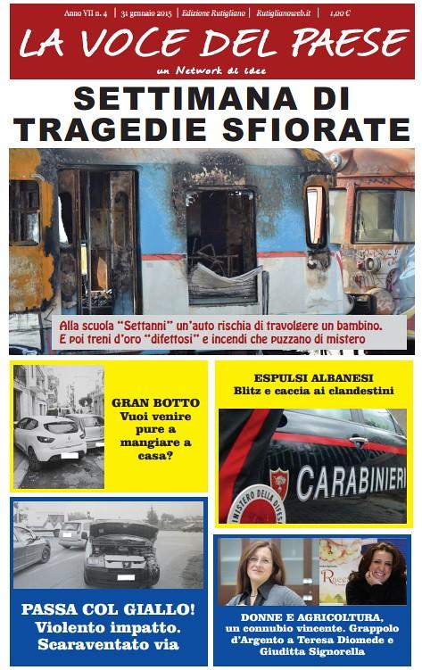 copertina rutigliano 31 gennaio 2015