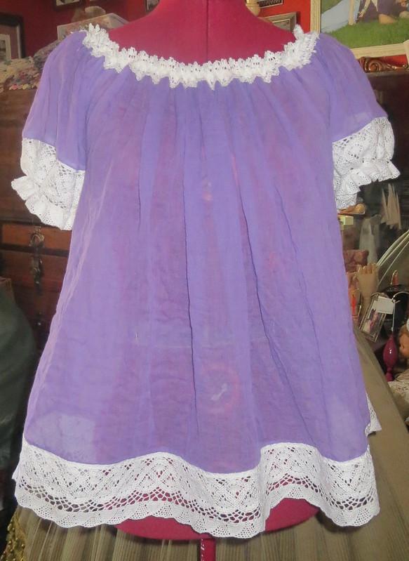 new blouse from slip of skirt