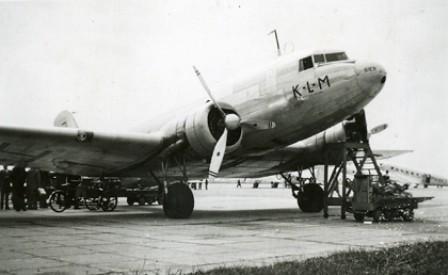 DC-3 Ibis de la Compañía KLM
