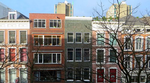 Lumière d'hiver sur Witte De Withstraat