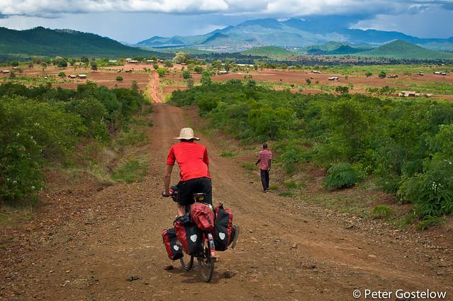 Towards the Tanzania border
