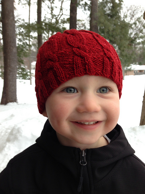 Padraig in Keegan Hat