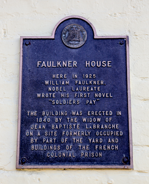 William Faulkner House, New Orleans