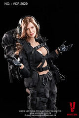 VERYCOOL TOYS VCF-2029 Black Female Shooter - 17