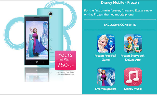 disney mobile phones globe