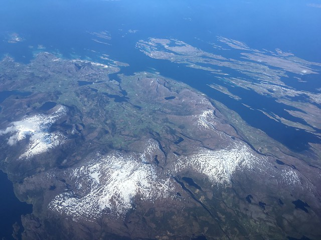 Flying to Bodø