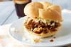 pulled pork with sweet and tangy bbq sauce