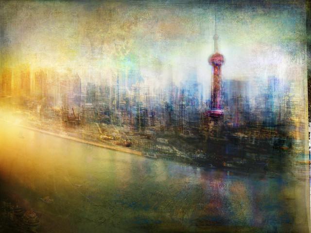 Cityscape #40 (Shanghai dreamline)