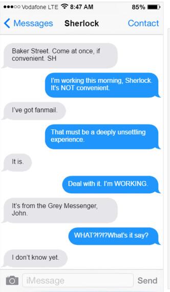 Text Convo Part 1