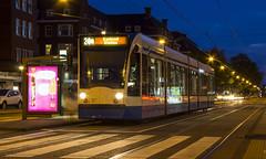 GVB Combino tram 2019, Lijn 24, Stadionweg