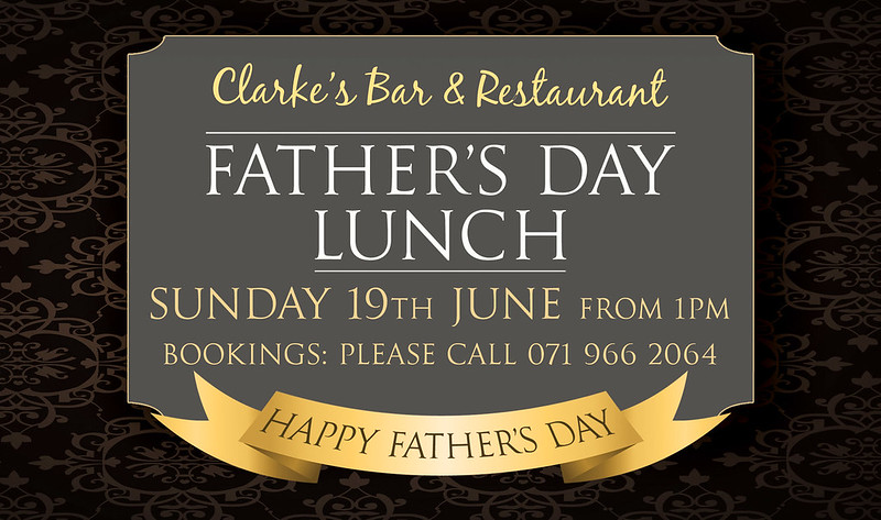Clarkes Fathers Day 2016