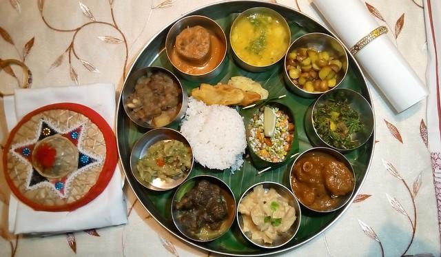 Main Course Thaali