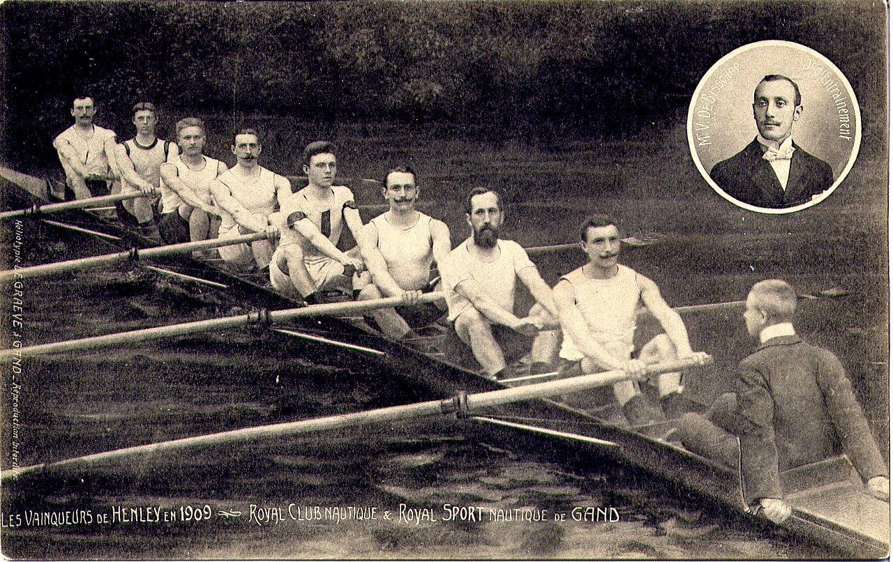 Netherlands -- winners 1909 - Koninklijke Roeivereniging Club Gent