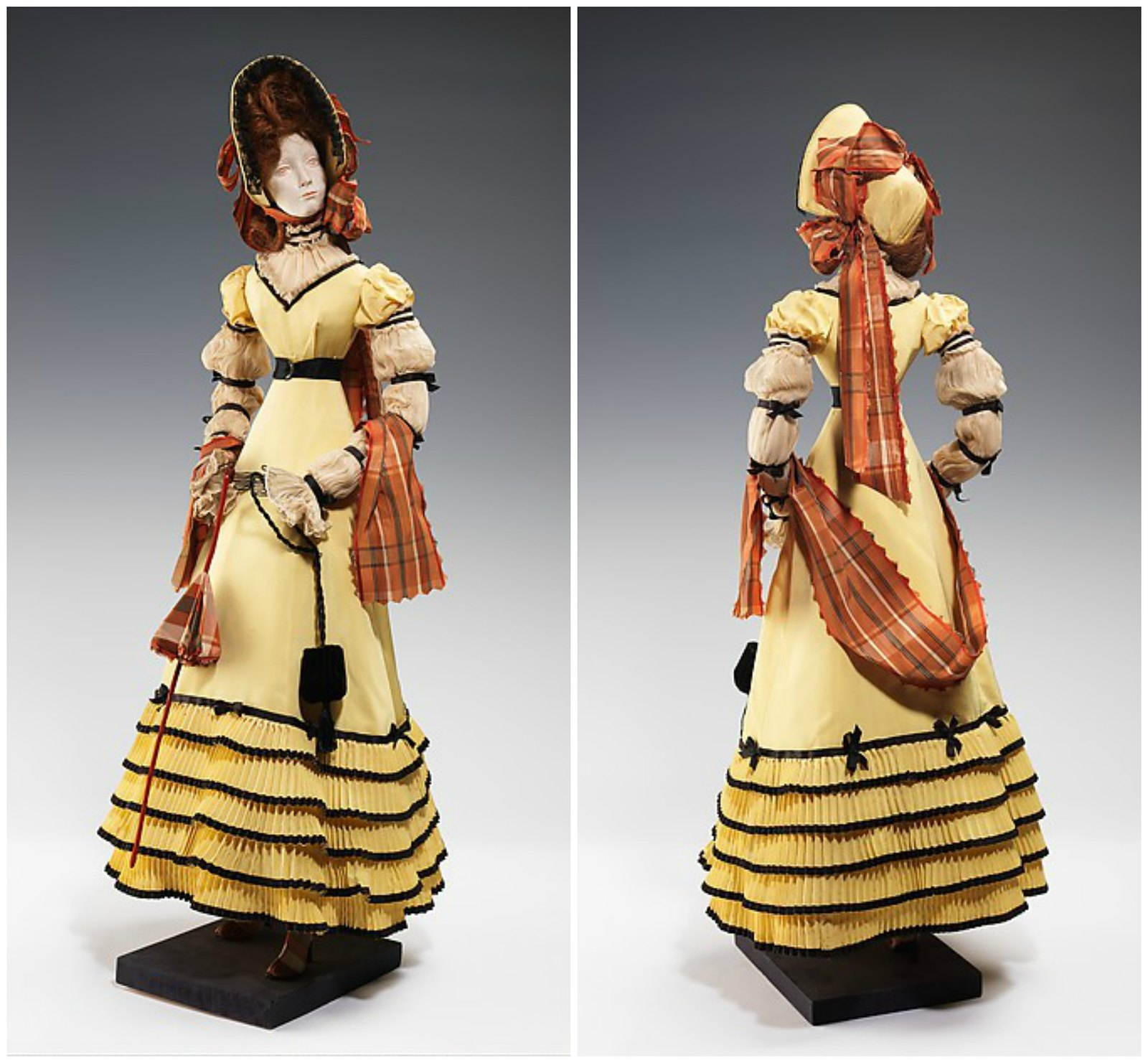 """1820 Doll"". House of Patou (French, founded 1919)"