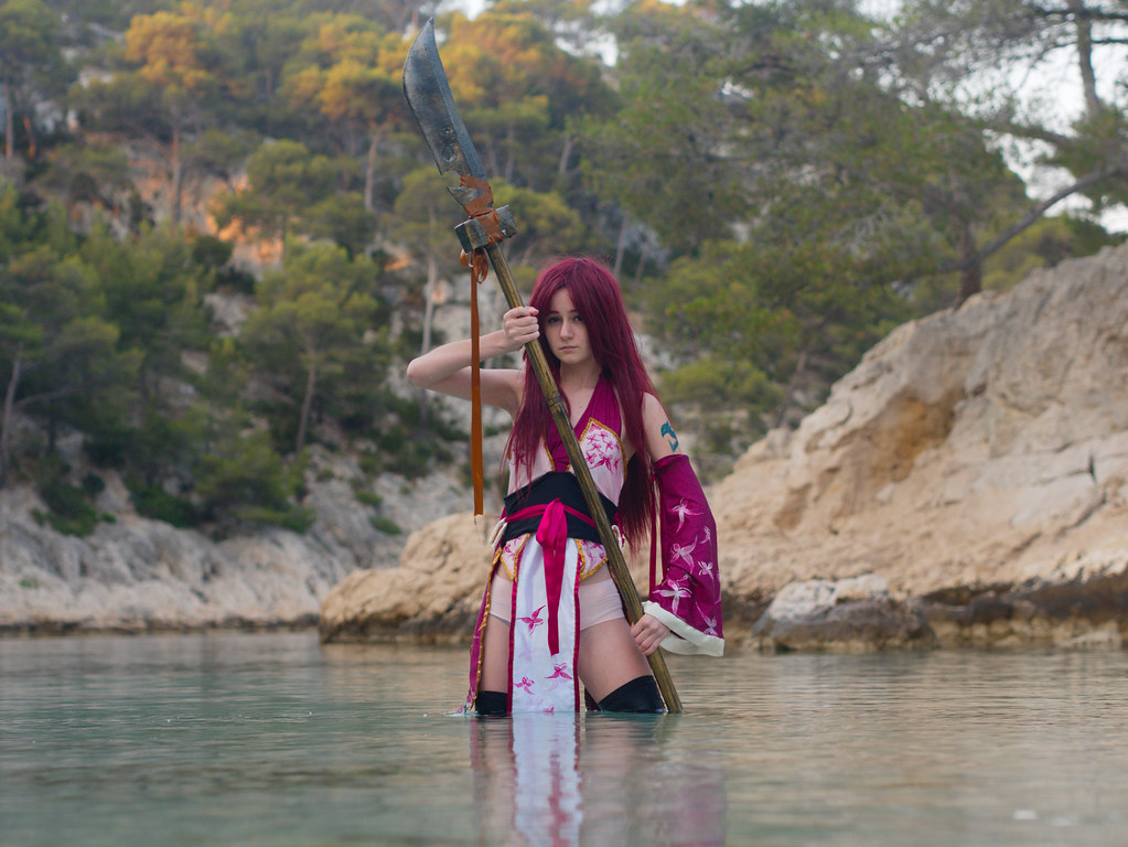 related image - Shooting Erza Scarlet - Fairy Tail - Port Pin -2016-07-02- P1430705