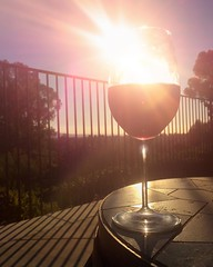 End to another day. Let the Sparks begin to fly! Bring on the 4th of July!!!  #wine #aronhillvineyard #redwine #backyardsunset #olmosoasis