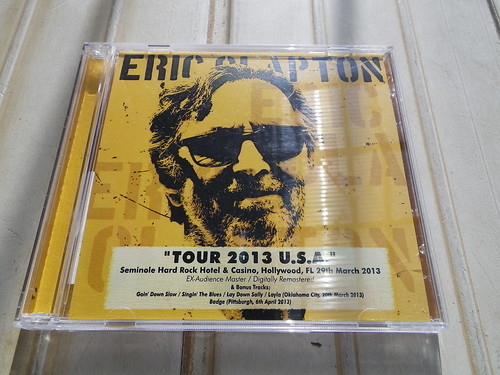 Eric Clapton Tour 2013 U.S.A