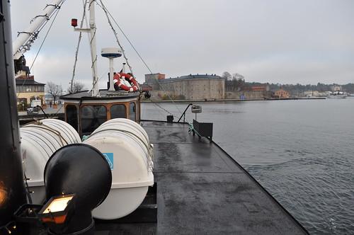 2011.11.12.302 - Stockholms skärgård - VAXHOLM - Strömma Kanalbolaget (Lilla Skärgårdsturen) - Vaxholms fästning